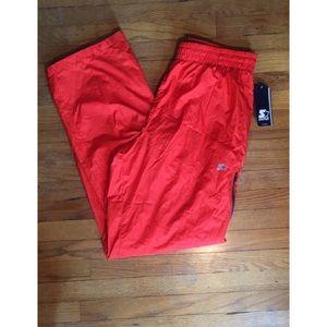 Orange Wind Breaker Pants